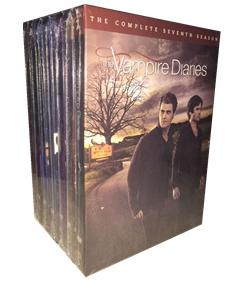 The Vampire Diaries Season 1-7 DVD Boxset