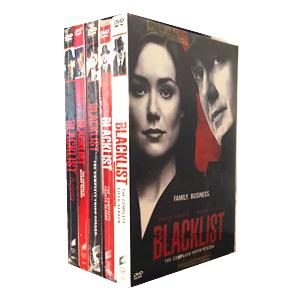 The Blacklist Seasons 1-5 DVD Box set